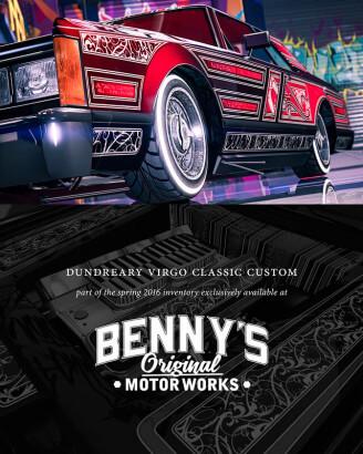 GTA Bennys Virgo