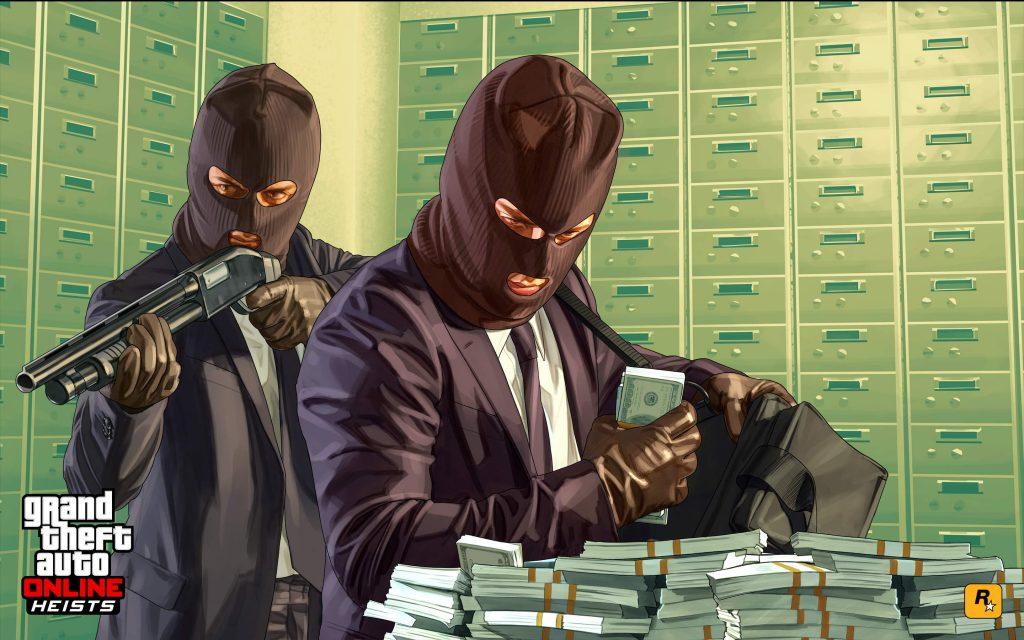 Gta 5 online Geld Raubüberfall