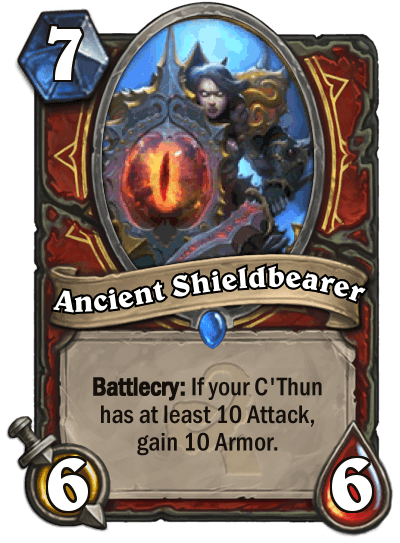 Hearthstone Wotog Ancient Shieldbearer