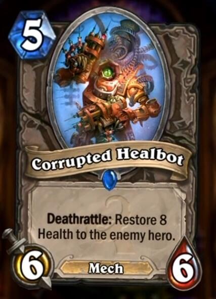 Hearthstone Wotog Corrupted Healbot
