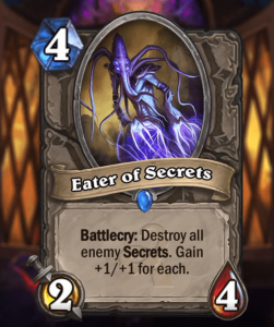 Hearthstone Wotog Eater of Secrets