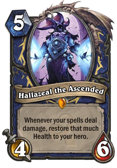 Hearthstone Wotog Hallazeal the Ascended