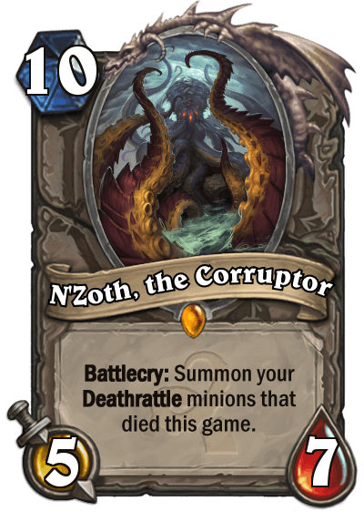 Hearthstone Wotog Nzoth the Corruptor