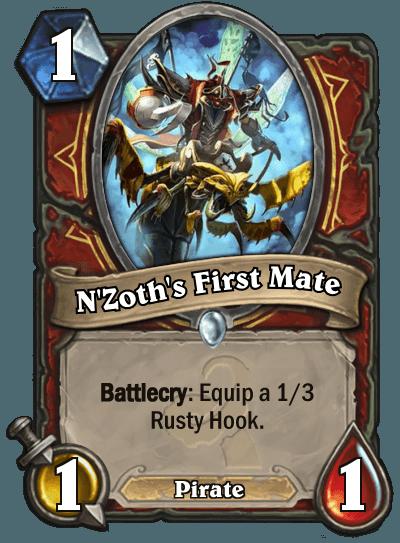Hearthstone Wotog Nzoths First Mate