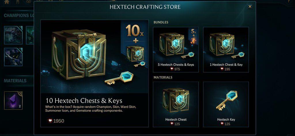 LoL Craft Preise