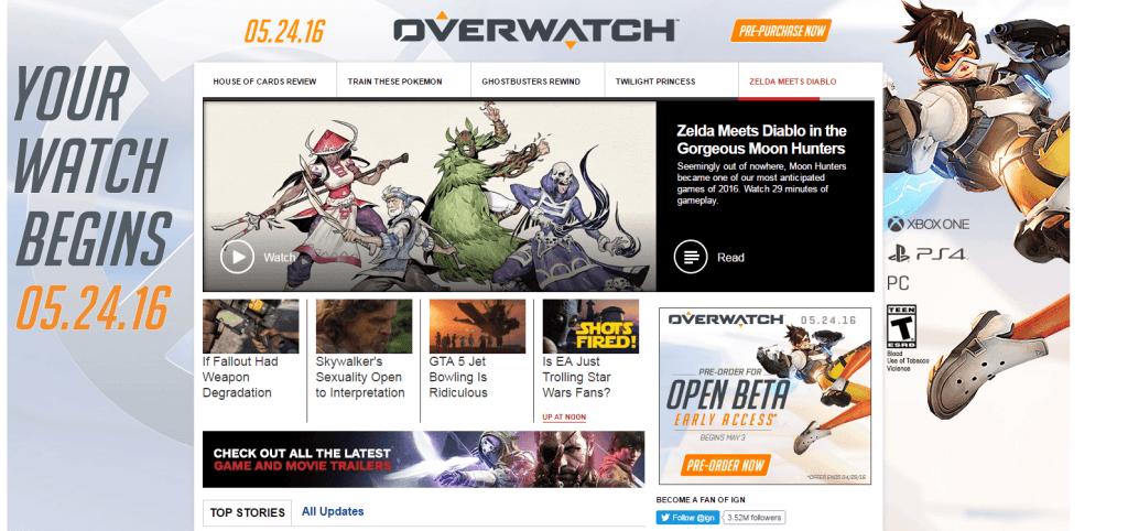 IGN-Werbeanzeige
