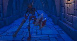 Landmark-Skelett