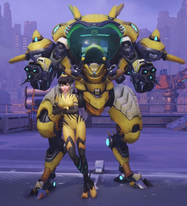 Overwatch DVa Stinger Skin