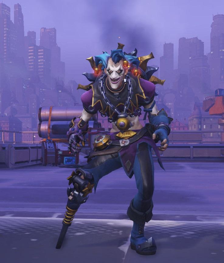 Overwatch Junkrat Jester Skin