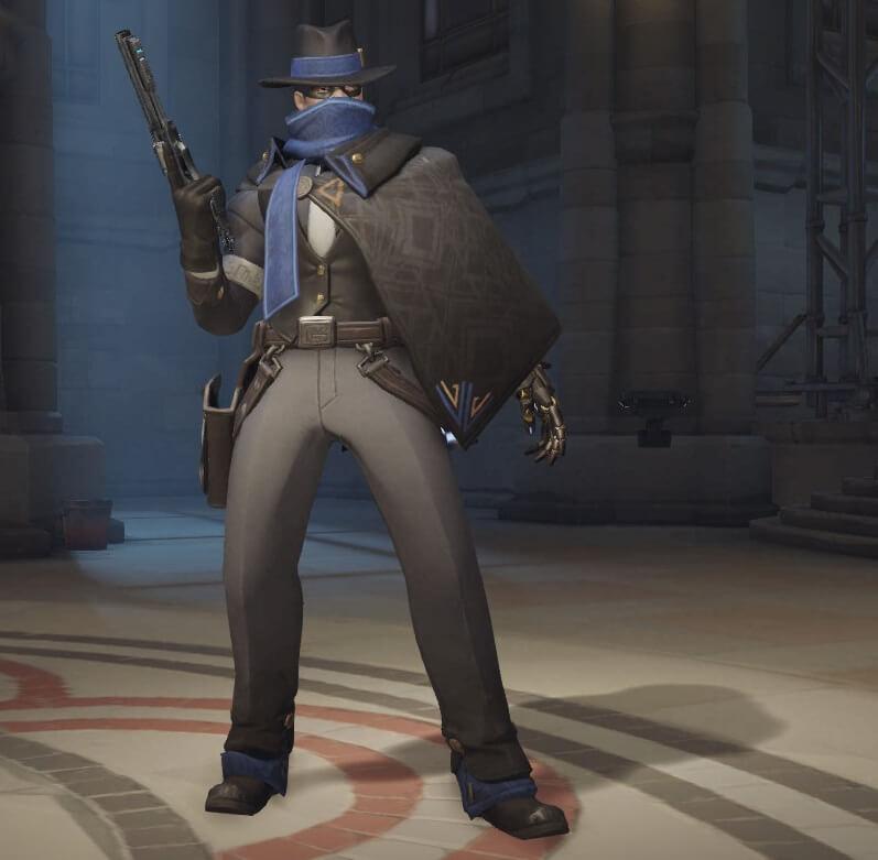 Overwatch McCree Mysteryman