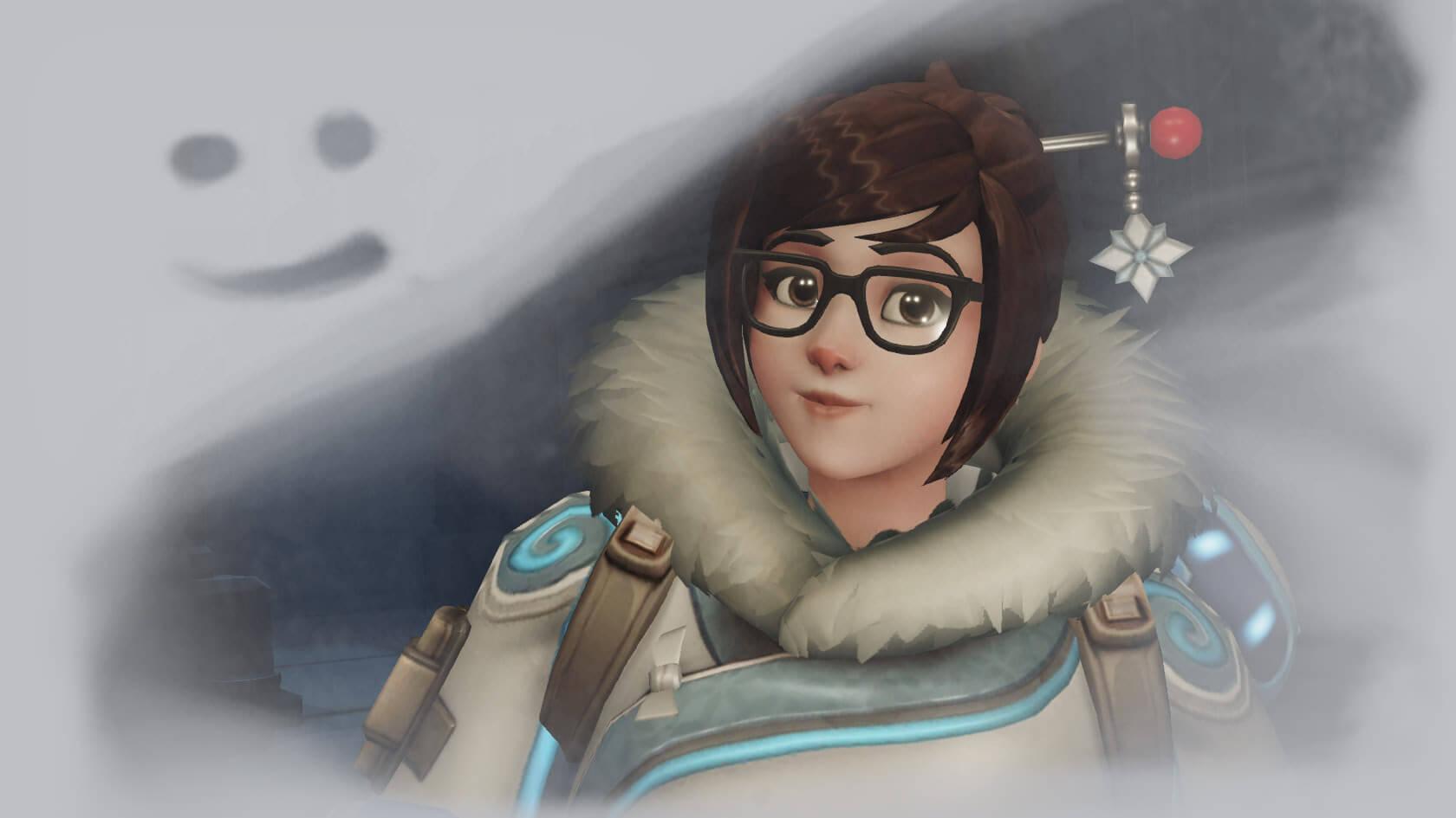 Overwatch Mei Freeze Smile
