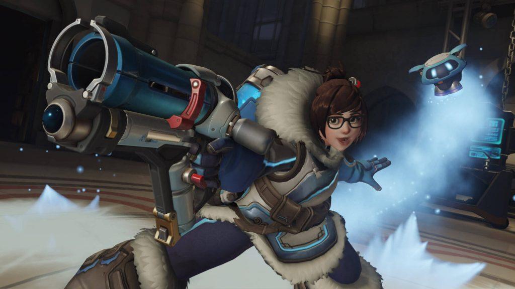 Overwatch Mei Posing