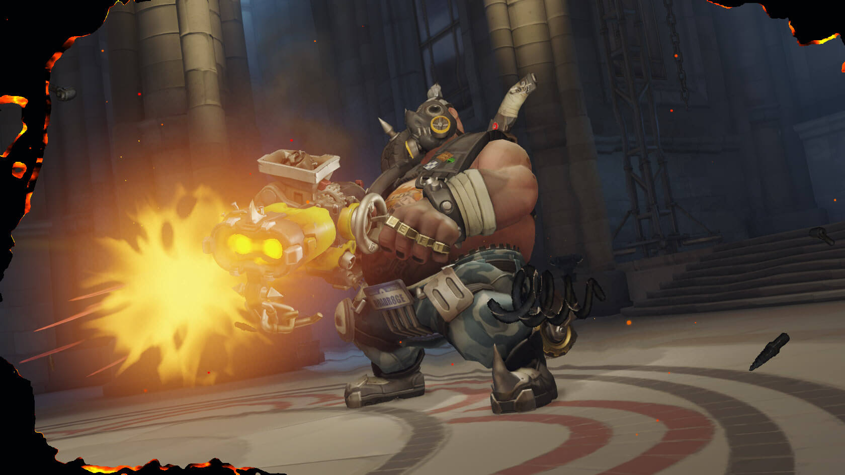 Overwatch Roadhog Shoot