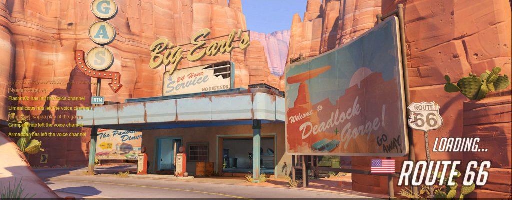 """Overwatch: Neue Karte """"Route 66"""", Achievements und """"Chaos""""-Modus"""