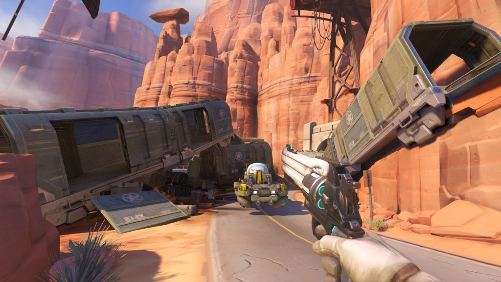 Overwatch Route 66 Screen 1