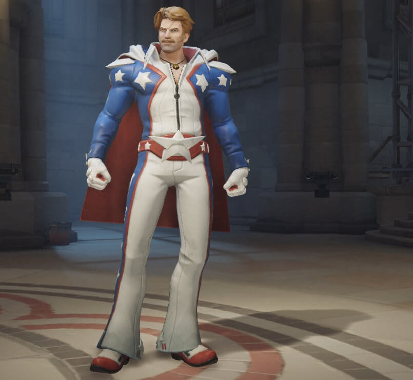 Overwatch Soldier 76 Carnival