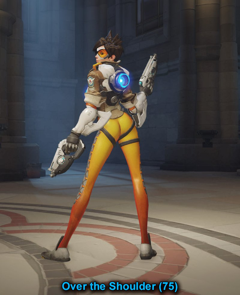 Overwatch Tracer Over the shoulder