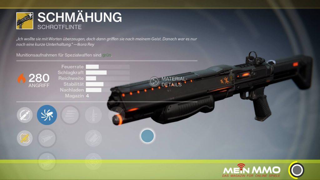 Schmähung destiny 253