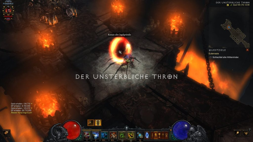 Diablo 3 Kanais Jagdgründe Event