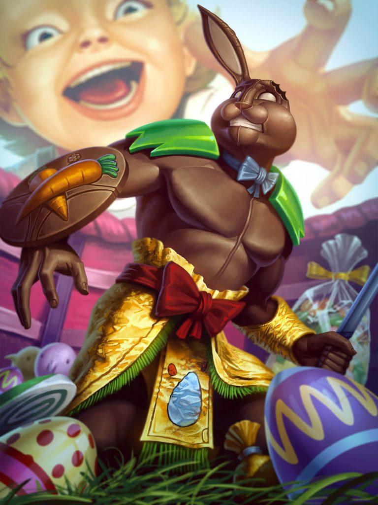 Smite Chaac Chocolade God Card