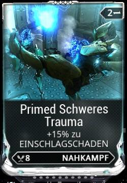 Warframe Primed Schweres Trauma Mod