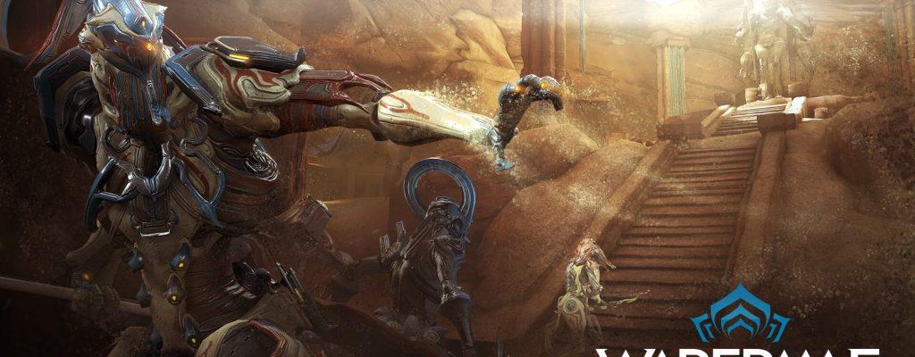 """Warframe: Für den MMO-Shooter geht's mit """"Sand des Inaros"""" nach Ägypten"""