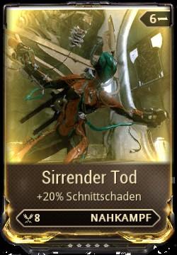 Warframe Sirrender Tod Mod