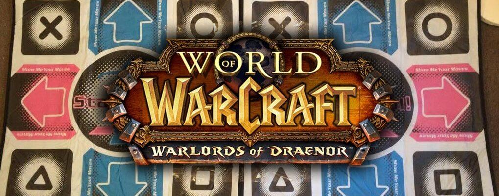 World of Warcraft: Mit dem Dancepad auf Stufe 100? – Mit Maus und Tastatur kann ja jeder