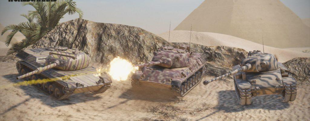 World of Tanks: Neue, deutsche Panzer landen auf der PlayStation 4!