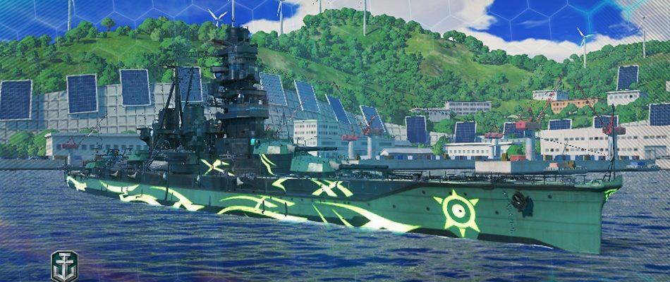 """World of Warships: Teil 2 des """"Anime""""-Crossover mit Arpeggio of Blue Steel läuft"""