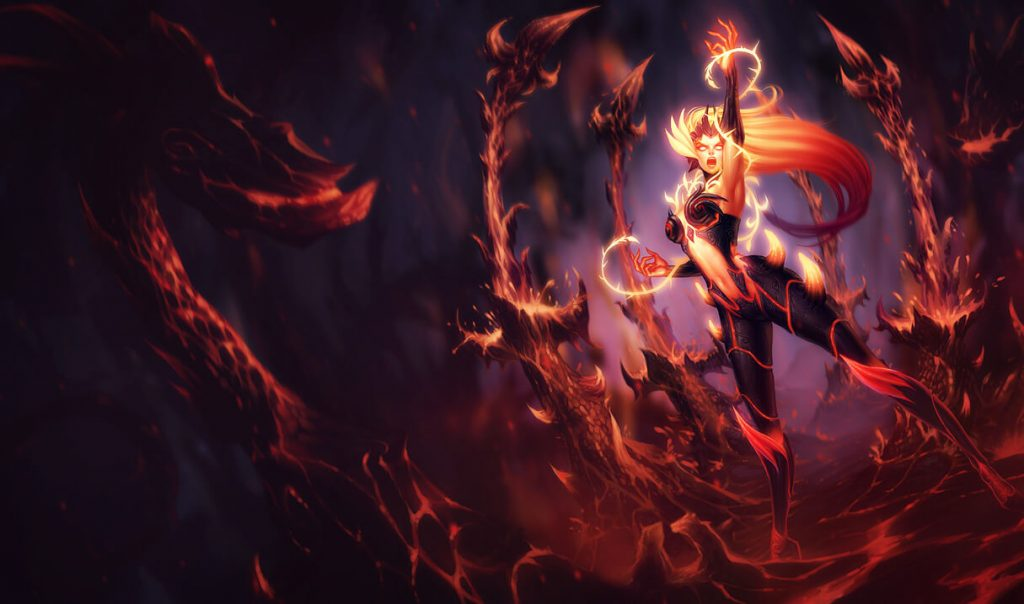 LoL Zyra Wildfeuer