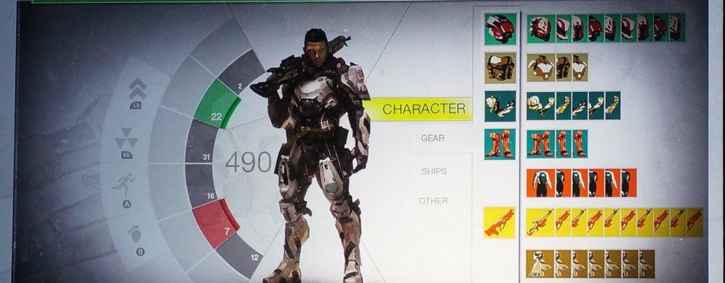 Destiny: So hätte das User-Interface auch aussehen können
