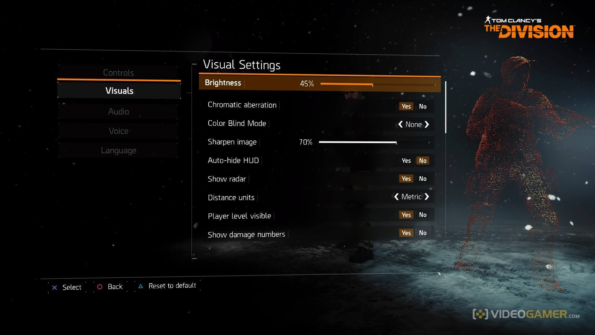 division-grafik-settings