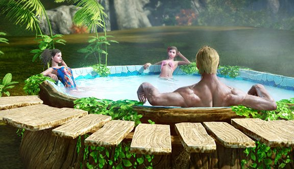 ArcheAge Hot Tub