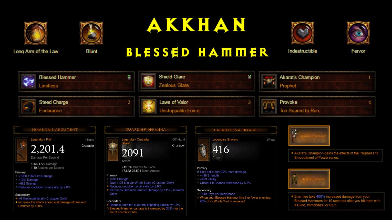 Image Result For Diablo Gesegneter Hammer Build