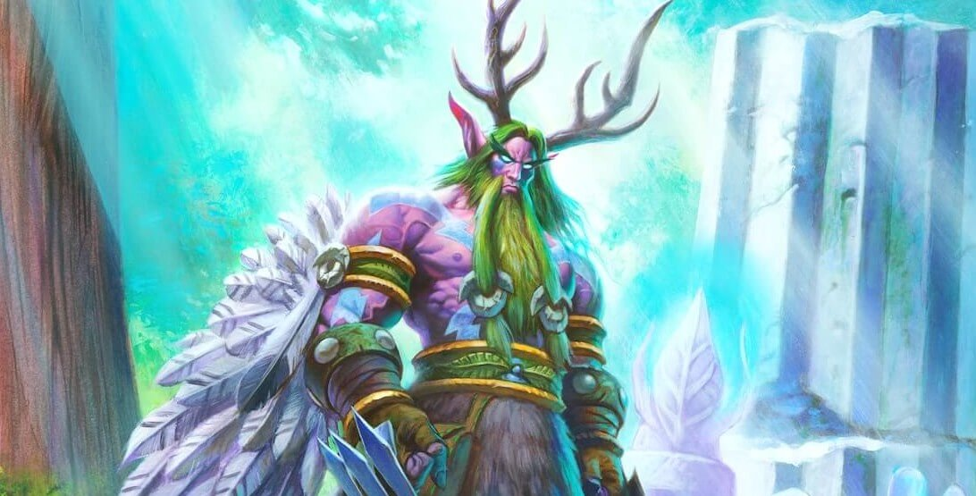 Hearthstone Druid Artwork Malfurion