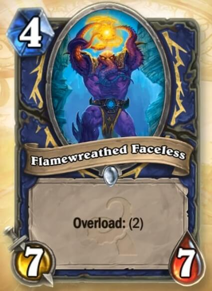 Hearthstone Wotog Flamewreathed Faceless