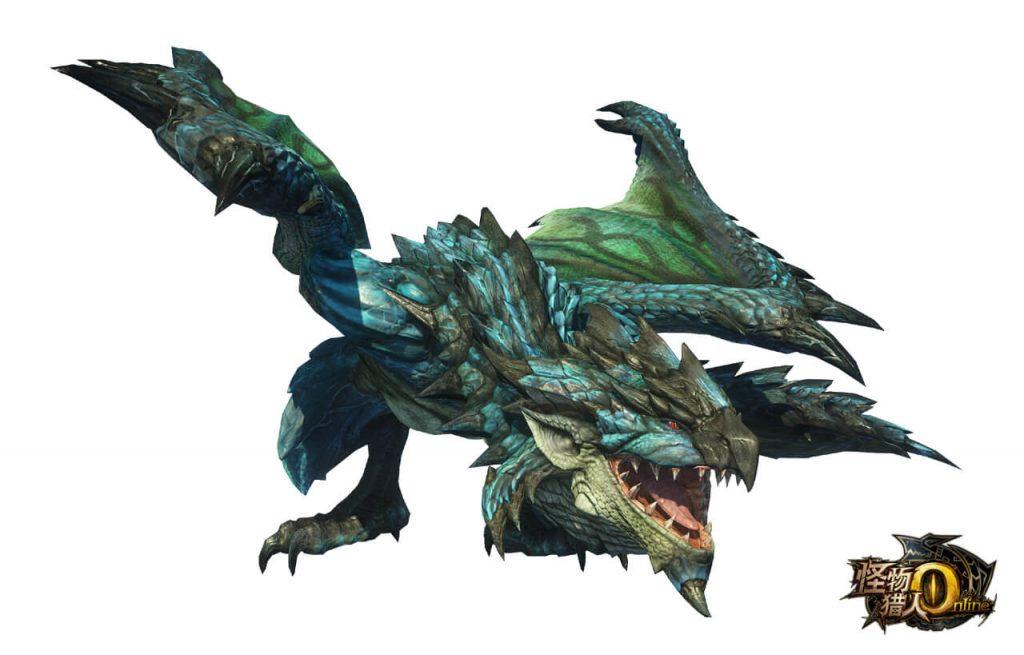 Monster Hunter Online Azure Rathalos