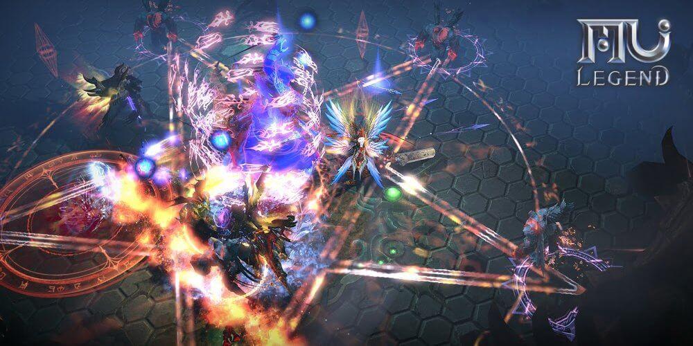 Mu Legend Combat