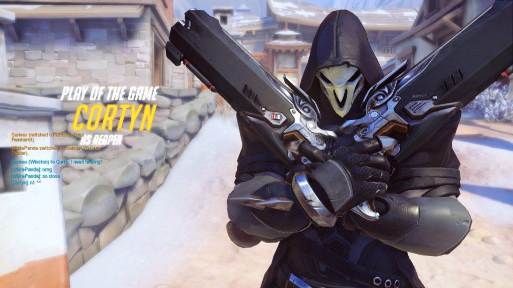 Overwatch Reaper Victory