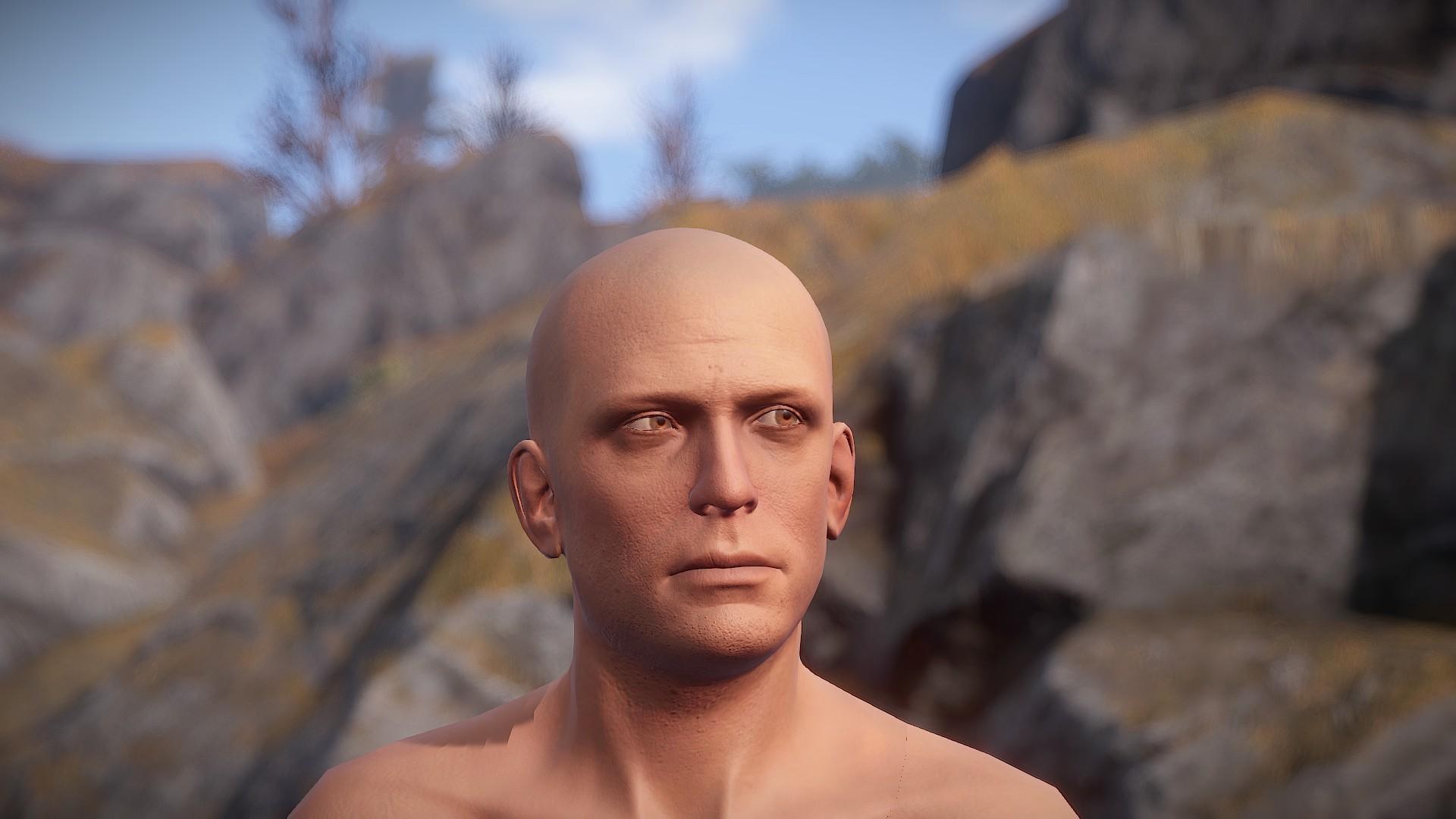 Rust Male Character Head