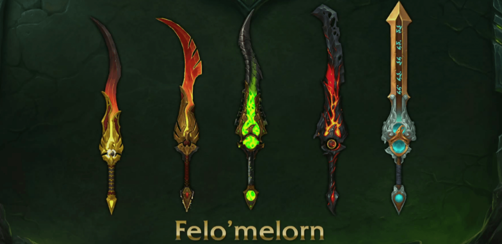 WoW Legion Artifact Mage Felomelorn