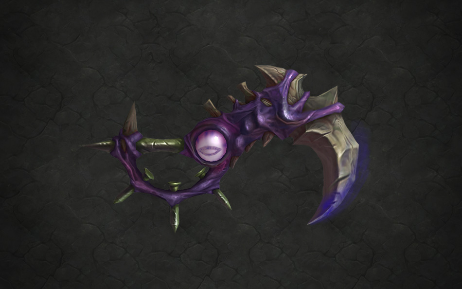 WoW Legion Artifact Pri Xalatath Blade of the Black Empire