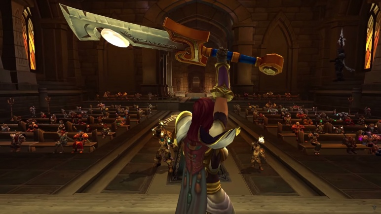 WoW Legion Class Order Hall Paladin