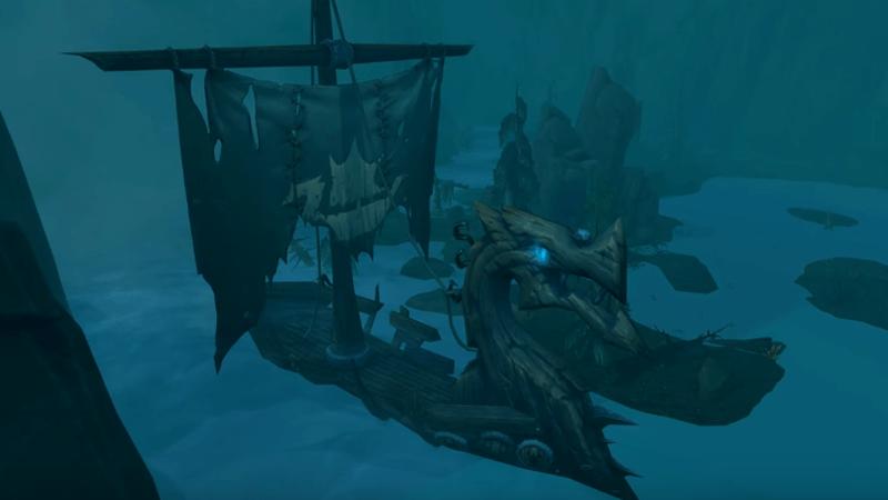 WoW Legion Dungeon Ship