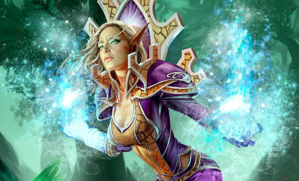 WoW Mage Artwork Artifact