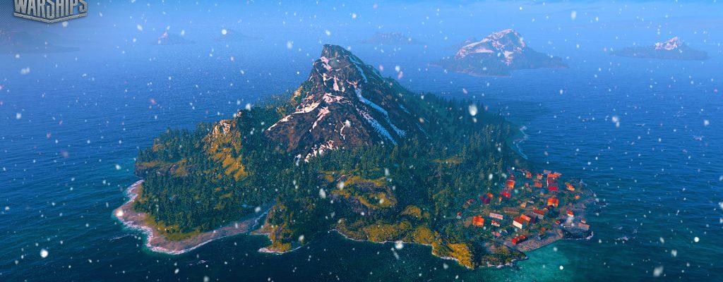 World of Warships: Schneegestöber und Regen hemmen die Sicht