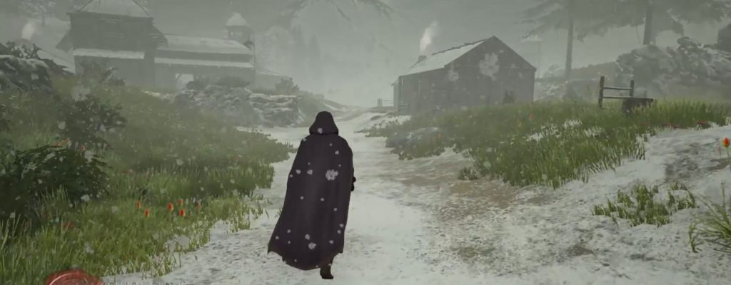 Es schneit im MMORPG Chronicles of Elyria