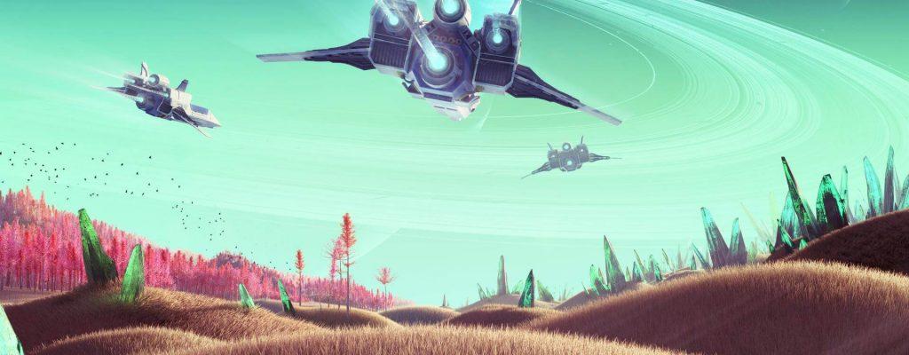 No Man's Sky: Update 1.3 steht an – bringt Schnellreise durch die Galaxie