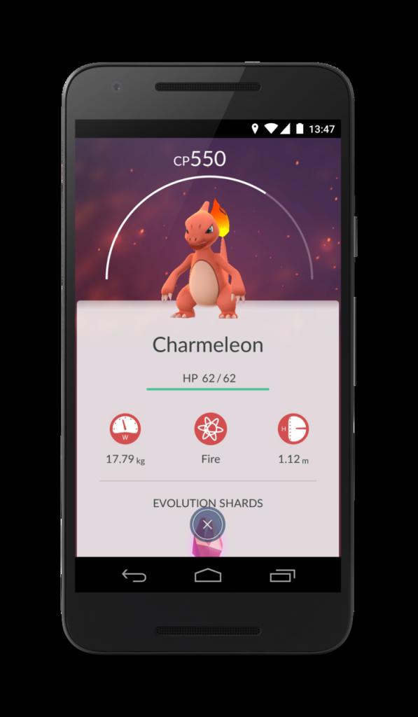 Pokemon Go Entwickeln